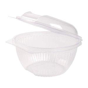 Miska na šalát s viečkom okrúhla | 1000 ml | 50 ks