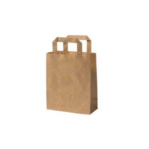 Papierová taška S | hnedá | 18x8x22cm | 250 ks