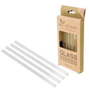 Slamky z borosilikátového skla